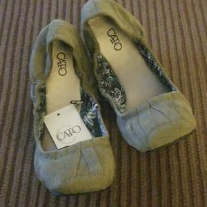 Cato shoes....size 7....hunter green...color is in